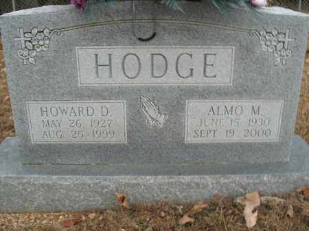 HODGE, HOWARD D. - Boone County, Arkansas | HOWARD D. HODGE - Arkansas Gravestone Photos