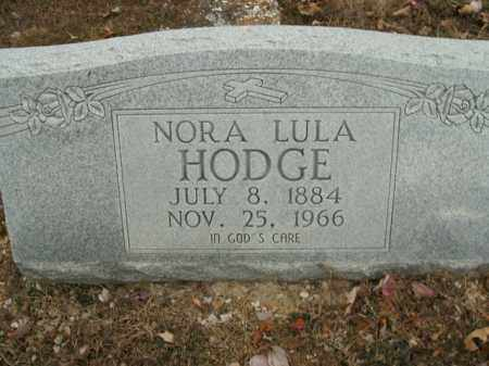 MANLEY HODGE, NORA LULA - Boone County, Arkansas | NORA LULA MANLEY HODGE - Arkansas Gravestone Photos