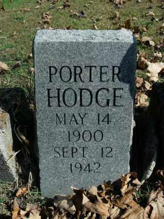 HODGE, PORTER - Boone County, Arkansas | PORTER HODGE - Arkansas Gravestone Photos