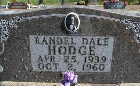 HODGE, RANDEL DALE - Boone County, Arkansas | RANDEL DALE HODGE - Arkansas Gravestone Photos