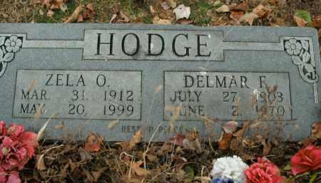HODGE, DELMAR F. - Boone County, Arkansas | DELMAR F. HODGE - Arkansas Gravestone Photos