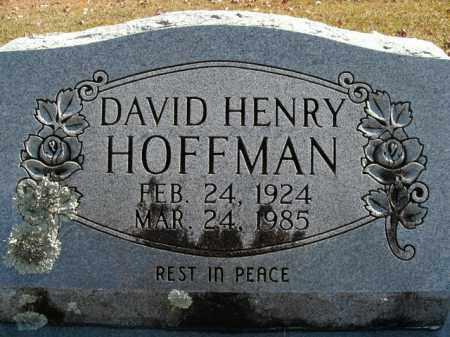 HOFFMAN, DAVID HENRY - Boone County, Arkansas | DAVID HENRY HOFFMAN - Arkansas Gravestone Photos