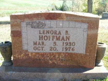 HOFFMAN, LENORA B. - Boone County, Arkansas | LENORA B. HOFFMAN - Arkansas Gravestone Photos