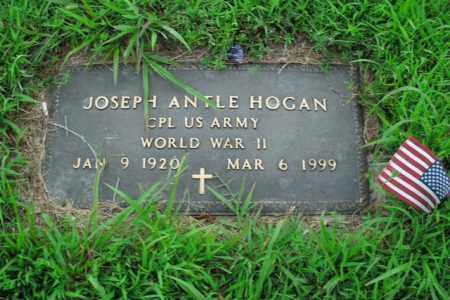 HOGAN  (VETERAN WWII), JOSEPH ANTLE - Boone County, Arkansas | JOSEPH ANTLE HOGAN  (VETERAN WWII) - Arkansas Gravestone Photos