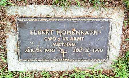 HOHENRATH  (VETERAN VIET), ELBERT - Boone County, Arkansas | ELBERT HOHENRATH  (VETERAN VIET) - Arkansas Gravestone Photos