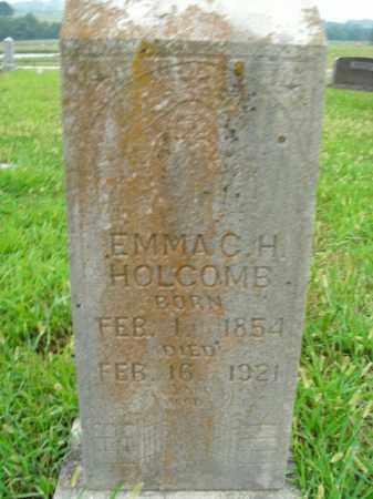 HOLCOMB, EMMA C.H. - Boone County, Arkansas | EMMA C.H. HOLCOMB - Arkansas Gravestone Photos