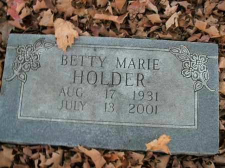 HOLDER, BETTY MARIE - Boone County, Arkansas | BETTY MARIE HOLDER - Arkansas Gravestone Photos