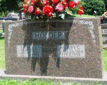 HOLDER, HENRY CARROLL - Boone County, Arkansas | HENRY CARROLL HOLDER - Arkansas Gravestone Photos