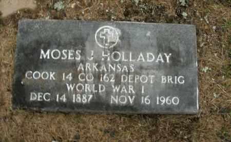 HOLLADAY  (VETERAN WWI), MOSES JOSHUA - Boone County, Arkansas   MOSES JOSHUA HOLLADAY  (VETERAN WWI) - Arkansas Gravestone Photos
