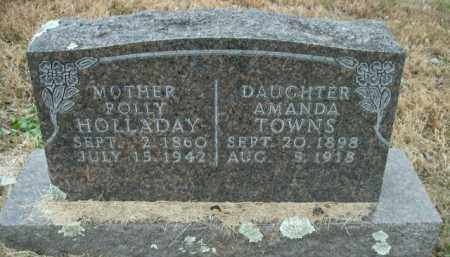 TOWNS, AMANDA - Boone County, Arkansas | AMANDA TOWNS - Arkansas Gravestone Photos