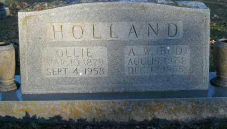"HOLLAND, AMBROSE WALTER ""BUD"" - Boone County, Arkansas   AMBROSE WALTER ""BUD"" HOLLAND - Arkansas Gravestone Photos"