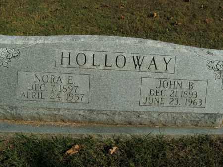 HOLLOWAY, NORA E. - Boone County, Arkansas   NORA E. HOLLOWAY - Arkansas Gravestone Photos