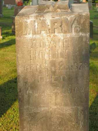 ADAIR HOLLY, MARY - Boone County, Arkansas   MARY ADAIR HOLLY - Arkansas Gravestone Photos