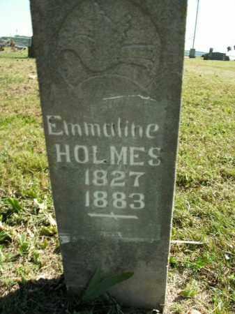 HOLMES, EMMALINE - Boone County, Arkansas | EMMALINE HOLMES - Arkansas Gravestone Photos