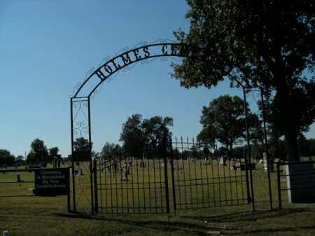 *HOLMES CEMETERY GATE,  - Boone County, Arkansas |  *HOLMES CEMETERY GATE - Arkansas Gravestone Photos
