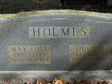 HOLMES, MAY - Boone County, Arkansas | MAY HOLMES - Arkansas Gravestone Photos