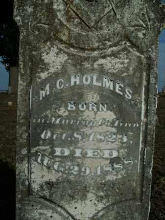 HOLMES, MOSES CARPENTER - Boone County, Arkansas | MOSES CARPENTER HOLMES - Arkansas Gravestone Photos