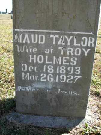 TAYLOR HOLMES, MAUD - Boone County, Arkansas | MAUD TAYLOR HOLMES - Arkansas Gravestone Photos