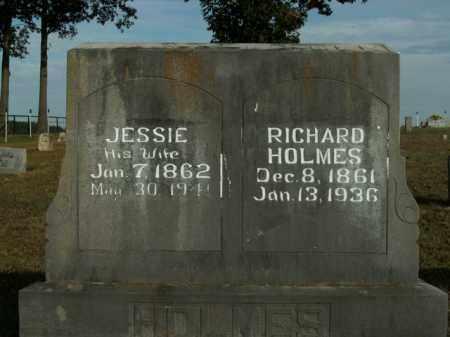 "HOLMES, JESSIMINE ""JESSIE"" - Boone County, Arkansas | JESSIMINE ""JESSIE"" HOLMES - Arkansas Gravestone Photos"