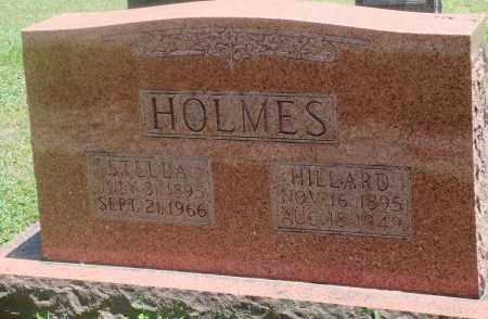 HOLMES, HILLARD - Boone County, Arkansas | HILLARD HOLMES - Arkansas Gravestone Photos