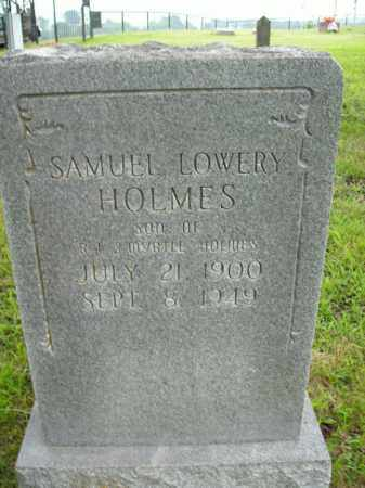 HOLMES, SAMUEL LOWERY - Boone County, Arkansas | SAMUEL LOWERY HOLMES - Arkansas Gravestone Photos
