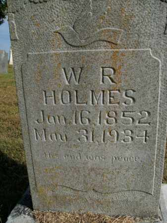 HOLMES, W.R. - Boone County, Arkansas | W.R. HOLMES - Arkansas Gravestone Photos