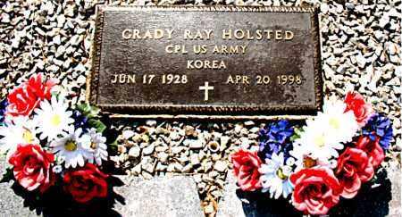HOLSTED  (VETERAN KOR), GRADY RAY - Boone County, Arkansas | GRADY RAY HOLSTED  (VETERAN KOR) - Arkansas Gravestone Photos