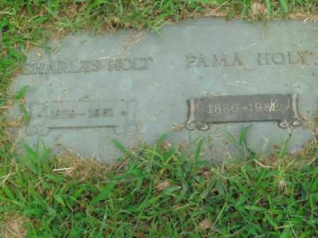 HOLT, FAMA - Boone County, Arkansas   FAMA HOLT - Arkansas Gravestone Photos