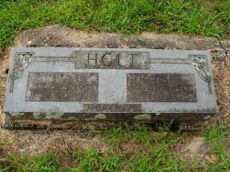 HOLT, CARL W. - Boone County, Arkansas | CARL W. HOLT - Arkansas Gravestone Photos