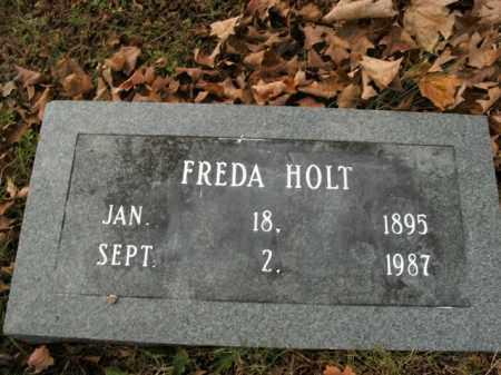 HOLT, FREDA - Boone County, Arkansas | FREDA HOLT - Arkansas Gravestone Photos