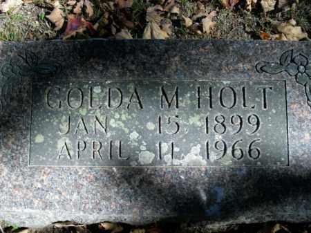HOLT, GOLDA MAE - Boone County, Arkansas | GOLDA MAE HOLT - Arkansas Gravestone Photos