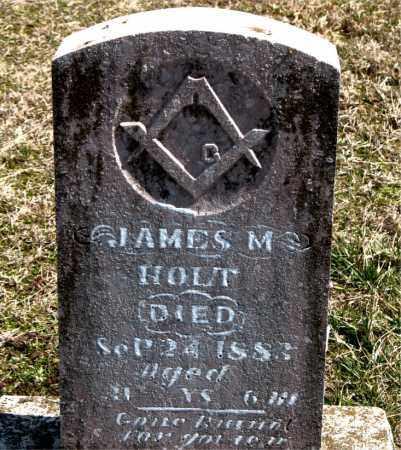 HOLT, JAMES  M. - Boone County, Arkansas | JAMES  M. HOLT - Arkansas Gravestone Photos