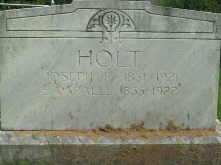 HOLT, EDNA PARALEE - Boone County, Arkansas | EDNA PARALEE HOLT - Arkansas Gravestone Photos