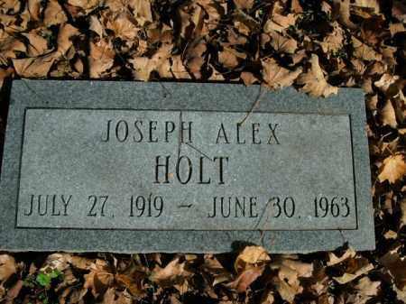 HOLT, JOSEPH ALEX - Boone County, Arkansas   JOSEPH ALEX HOLT - Arkansas Gravestone Photos