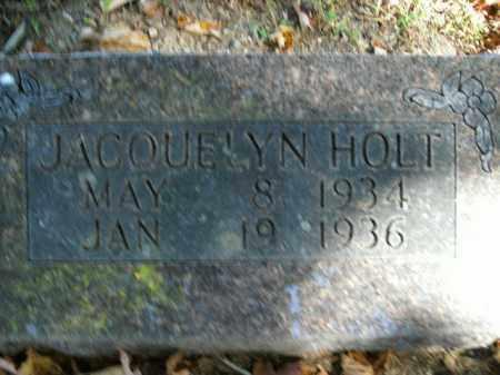 HOLT, JACQUELYN - Boone County, Arkansas | JACQUELYN HOLT - Arkansas Gravestone Photos