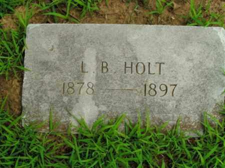 HOLT, L.B. - Boone County, Arkansas | L.B. HOLT - Arkansas Gravestone Photos