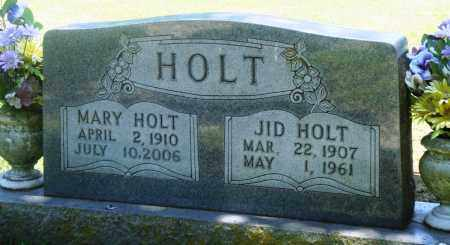 HOLT, JID - Boone County, Arkansas | JID HOLT - Arkansas Gravestone Photos