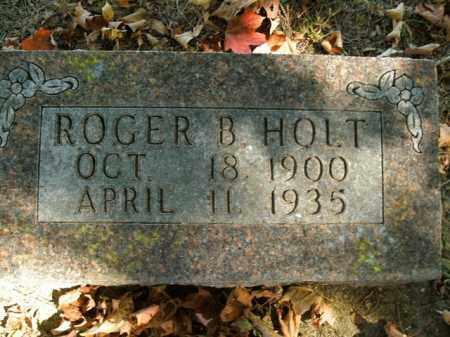 HOLT, ROGER BUEL - Boone County, Arkansas | ROGER BUEL HOLT - Arkansas Gravestone Photos