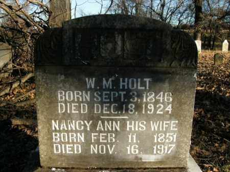 HOLT, NANCY ANN - Boone County, Arkansas | NANCY ANN HOLT - Arkansas Gravestone Photos