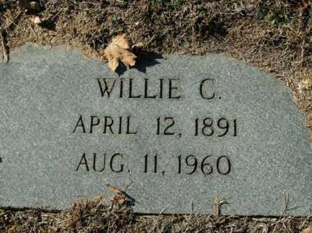 HOLT, WILLIE C. - Boone County, Arkansas   WILLIE C. HOLT - Arkansas Gravestone Photos