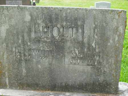 HOLT, WILLIAM I. - Boone County, Arkansas | WILLIAM I. HOLT - Arkansas Gravestone Photos