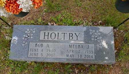 HOLTBY, BOB A SR - Boone County, Arkansas   BOB A SR HOLTBY - Arkansas Gravestone Photos