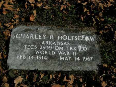 HOLTSCLAW  (VETERAN WWII), CHARLEY R - Boone County, Arkansas   CHARLEY R HOLTSCLAW  (VETERAN WWII) - Arkansas Gravestone Photos