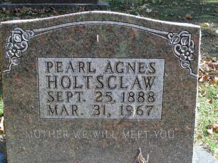 HOLTSCLAW, PEARL AGNES - Boone County, Arkansas | PEARL AGNES HOLTSCLAW - Arkansas Gravestone Photos