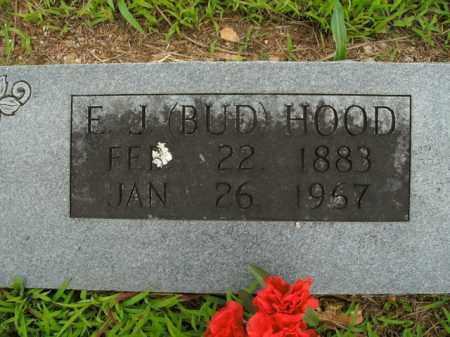 HOOD, E. J. (BUD) - Boone County, Arkansas   E. J. (BUD) HOOD - Arkansas Gravestone Photos