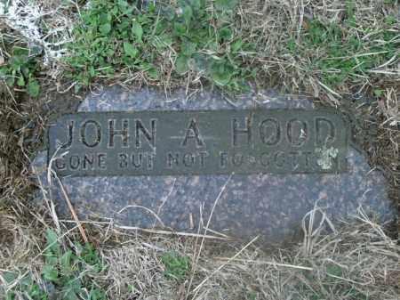 HOOD, JOHN A. - Boone County, Arkansas   JOHN A. HOOD - Arkansas Gravestone Photos