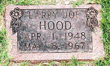 HOOD, LARRY JOE - Boone County, Arkansas | LARRY JOE HOOD - Arkansas Gravestone Photos