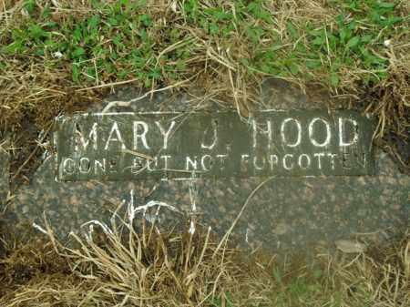 HOOD, MARY J. - Boone County, Arkansas   MARY J. HOOD - Arkansas Gravestone Photos