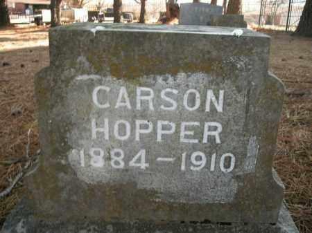 HOPPER, CARSON - Boone County, Arkansas | CARSON HOPPER - Arkansas Gravestone Photos