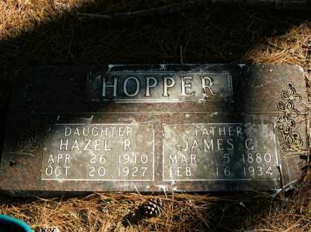 HOPPER, JAMES GARFIELD - Boone County, Arkansas | JAMES GARFIELD HOPPER - Arkansas Gravestone Photos